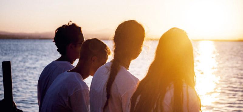 Campamento de verano para adolescentes con problemas